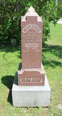 BONNELL SHAW, ASENATH - Ashtabula County, Ohio | ASENATH BONNELL SHAW - Ohio Gravestone Photos