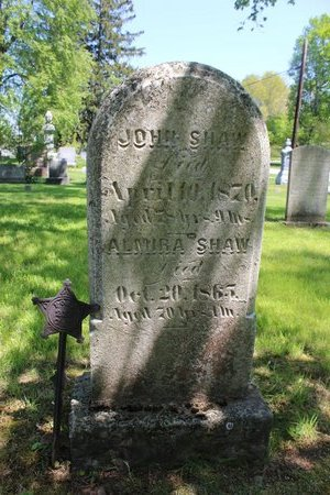 BECKWITH SHAW, ALMIRA - Ashtabula County, Ohio | ALMIRA BECKWITH SHAW - Ohio Gravestone Photos