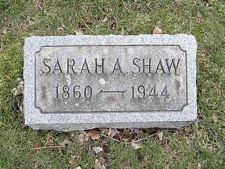 SHAW, SARAH ANN - Ashtabula County, Ohio | SARAH ANN SHAW - Ohio Gravestone Photos