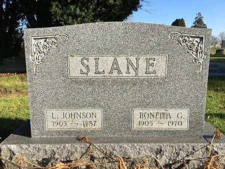 SLANE, LLOYD JOHNSON - Ashtabula County, Ohio | LLOYD JOHNSON SLANE - Ohio Gravestone Photos