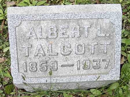 TALCOTT, ALBERT L. - Ashtabula County, Ohio   ALBERT L. TALCOTT - Ohio Gravestone Photos