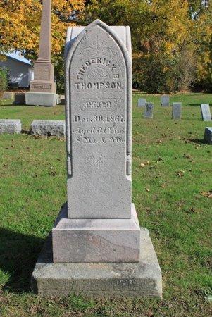 THOMPSON, FREDERICK B. - Ashtabula County, Ohio | FREDERICK B. THOMPSON - Ohio Gravestone Photos