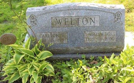SMILEY WELTON, HALLIE  G. - Ashtabula County, Ohio | HALLIE  G. SMILEY WELTON - Ohio Gravestone Photos