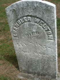 WELTON, CHANDLER  H. - Ashtabula County, Ohio | CHANDLER  H. WELTON - Ohio Gravestone Photos