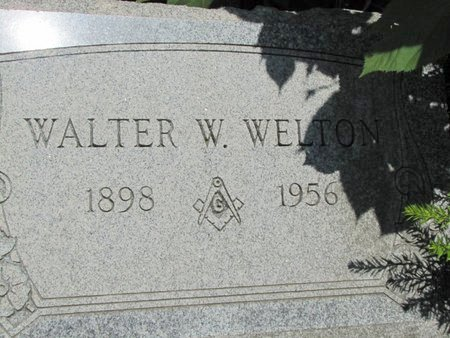 WELTON, WALTER - Ashtabula County, Ohio | WALTER WELTON - Ohio Gravestone Photos