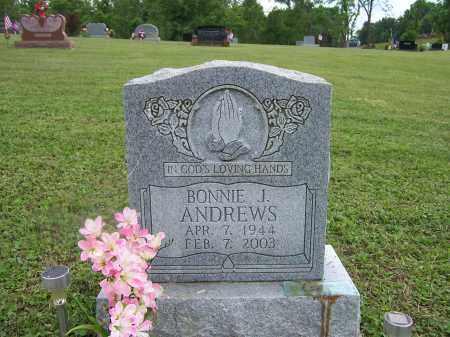 ANDREWS, BONNIE J. - Athens County, Ohio | BONNIE J. ANDREWS - Ohio Gravestone Photos