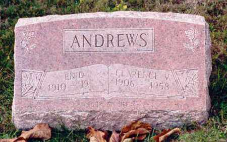 ANDREWS, CLARENCE V. - Athens County, Ohio | CLARENCE V. ANDREWS - Ohio Gravestone Photos