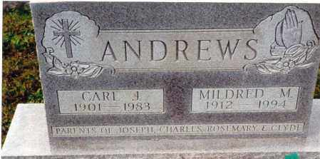 ARNOLD ANDREWS, MILDRED M. - Athens County, Ohio | MILDRED M. ARNOLD ANDREWS - Ohio Gravestone Photos