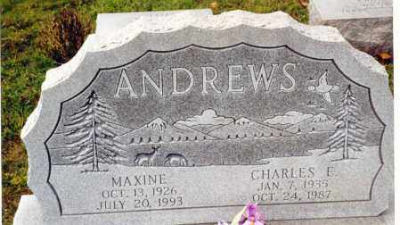 ANDREWS, MAXINE - Athens County, Ohio | MAXINE ANDREWS - Ohio Gravestone Photos