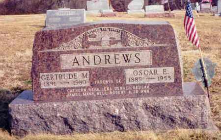 ANDREWS, OSCAR E. - Athens County, Ohio | OSCAR E. ANDREWS - Ohio Gravestone Photos