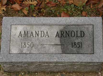 ARNOLD, AMANDA - Athens County, Ohio   AMANDA ARNOLD - Ohio Gravestone Photos