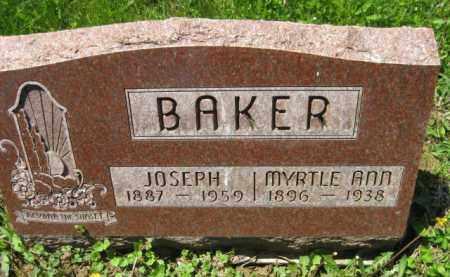 BAKER, JOSEPH - Athens County, Ohio | JOSEPH BAKER - Ohio Gravestone Photos