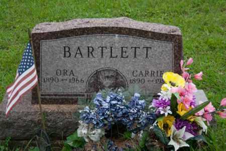 BARTLETT, CARRIE - Athens County, Ohio   CARRIE BARTLETT - Ohio Gravestone Photos