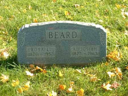 BEARD, A. JOSIAH - Athens County, Ohio | A. JOSIAH BEARD - Ohio Gravestone Photos