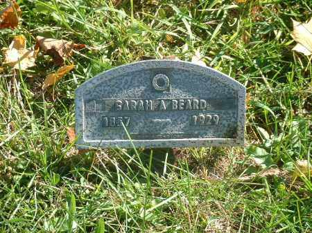 KIRKBRIDE BEARD, SARAH A. - Athens County, Ohio | SARAH A. KIRKBRIDE BEARD - Ohio Gravestone Photos