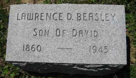 BEASLEY, LAWRENCE D. - Athens County, Ohio   LAWRENCE D. BEASLEY - Ohio Gravestone Photos