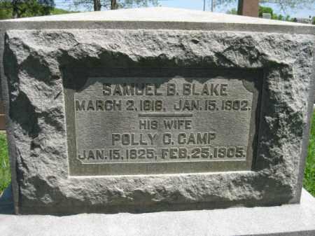 CAMP BLAKE, POLLY G. - Athens County, Ohio | POLLY G. CAMP BLAKE - Ohio Gravestone Photos