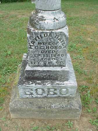 BOBO, MATILDA - Athens County, Ohio   MATILDA BOBO - Ohio Gravestone Photos