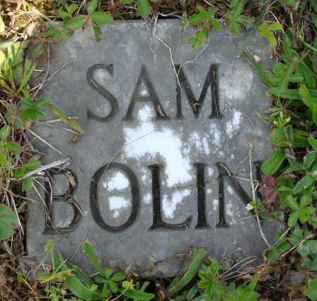 BOLIN, SAM - Athens County, Ohio | SAM BOLIN - Ohio Gravestone Photos