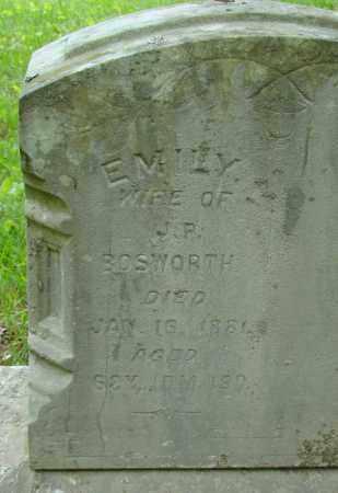 BOSWORTH, EMILY - Athens County, Ohio | EMILY BOSWORTH - Ohio Gravestone Photos