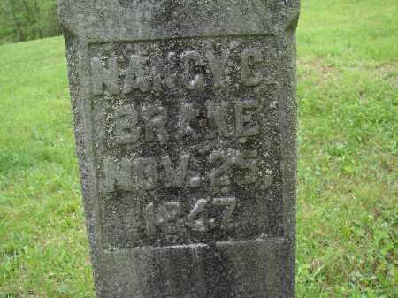 BRAKE, NANCY C. - Athens County, Ohio   NANCY C. BRAKE - Ohio Gravestone Photos