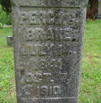 BRAKE, PERCY G. - Athens County, Ohio | PERCY G. BRAKE - Ohio Gravestone Photos
