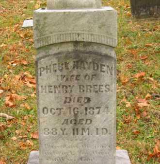 BREESE, PHEBE - Athens County, Ohio | PHEBE BREESE - Ohio Gravestone Photos