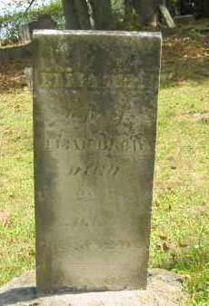 BROWN, ELIZABETH - Athens County, Ohio   ELIZABETH BROWN - Ohio Gravestone Photos