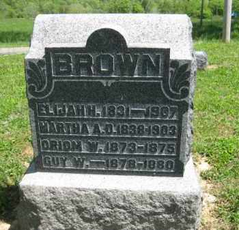 BROWN, ELIJAH H. - Athens County, Ohio | ELIJAH H. BROWN - Ohio Gravestone Photos