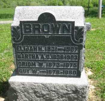 BROWN, GUY W, - Athens County, Ohio | GUY W, BROWN - Ohio Gravestone Photos