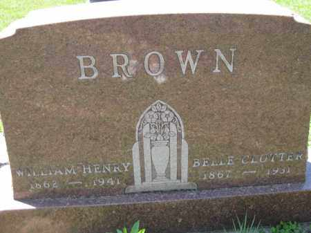 CLUTTER BROWN, BELLE - Athens County, Ohio | BELLE CLUTTER BROWN - Ohio Gravestone Photos