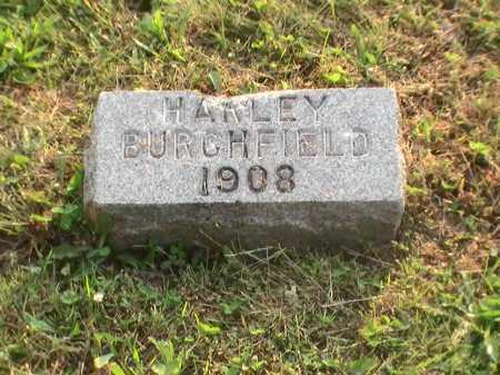 BURCHFIELD, HARLEY - Athens County, Ohio   HARLEY BURCHFIELD - Ohio Gravestone Photos