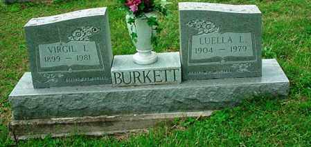 BURKETT, VIRGIL L. - Athens County, Ohio | VIRGIL L. BURKETT - Ohio Gravestone Photos