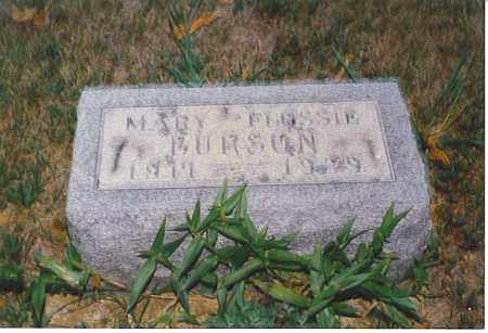 BURSON, MARY FLOSSIE - Athens County, Ohio | MARY FLOSSIE BURSON - Ohio Gravestone Photos