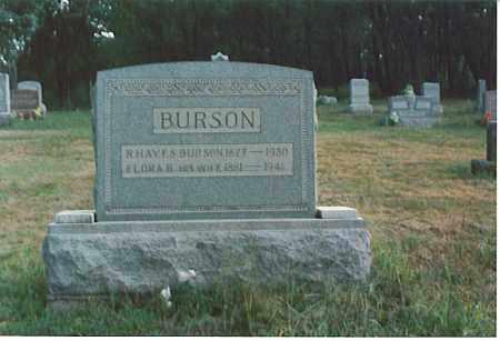 BURSON, R. HAYES - Athens County, Ohio | R. HAYES BURSON - Ohio Gravestone Photos