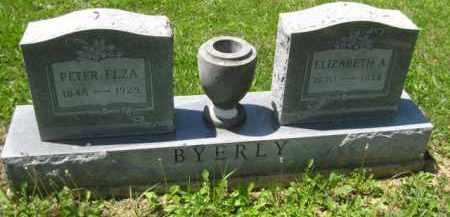 BYERLY, ELIZABETH A. - Athens County, Ohio | ELIZABETH A. BYERLY - Ohio Gravestone Photos
