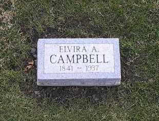 CAMPBELL, ELVIRA - Athens County, Ohio | ELVIRA CAMPBELL - Ohio Gravestone Photos