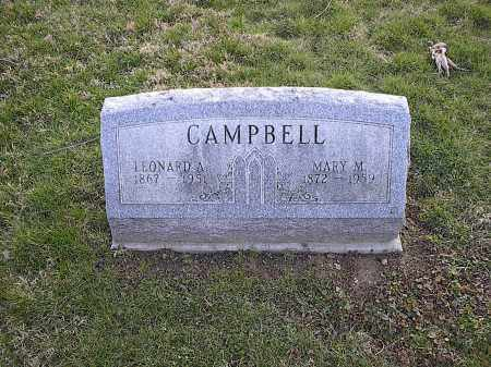 BIRCHFIELD CAMPBELL, MARY M. - Athens County, Ohio | MARY M. BIRCHFIELD CAMPBELL - Ohio Gravestone Photos