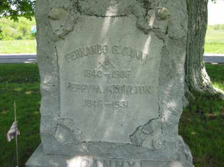 KNOWLTON CANNY, HEPPY A. - Athens County, Ohio | HEPPY A. KNOWLTON CANNY - Ohio Gravestone Photos