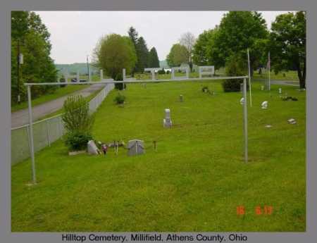 CEMETERY, HILLTOP - Athens County, Ohio | HILLTOP CEMETERY - Ohio Gravestone Photos