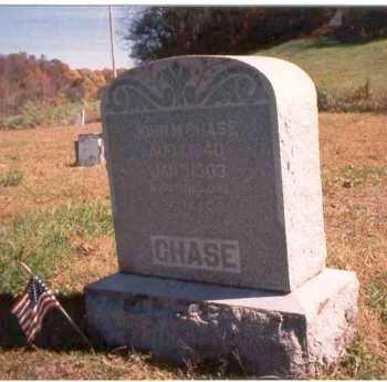 CHASE, JOHN M. - Athens County, Ohio | JOHN M. CHASE - Ohio Gravestone Photos