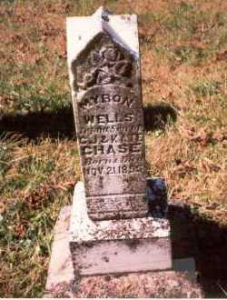 CHASE, MYRON WELLS - Athens County, Ohio | MYRON WELLS CHASE - Ohio Gravestone Photos