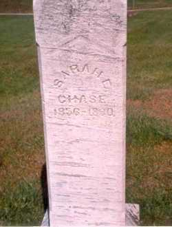 ROBINSON CHASE, SARAH E - Athens County, Ohio | SARAH E ROBINSON CHASE - Ohio Gravestone Photos