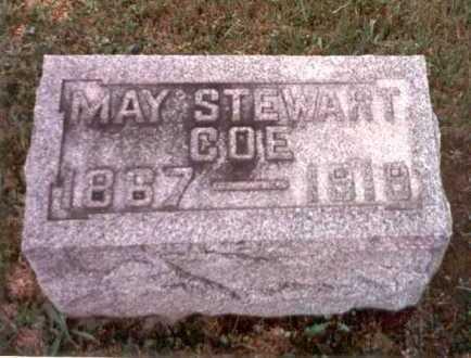 STEWART COE, MAY - Athens County, Ohio | MAY STEWART COE - Ohio Gravestone Photos