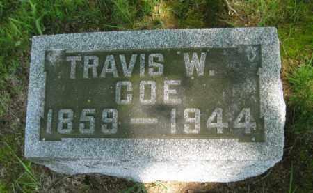 COE, TRAVIS W. - Athens County, Ohio   TRAVIS W. COE - Ohio Gravestone Photos