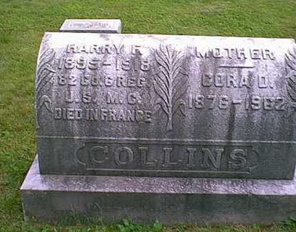 COLLINS, CORA D. - Athens County, Ohio | CORA D. COLLINS - Ohio Gravestone Photos