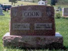 MCMORROW COOK, JENNIE - Athens County, Ohio | JENNIE MCMORROW COOK - Ohio Gravestone Photos