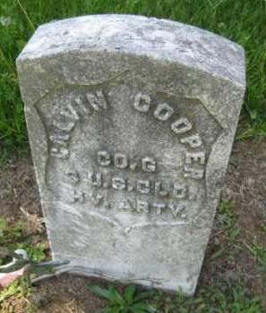 COOPER, CALVIN - Athens County, Ohio | CALVIN COOPER - Ohio Gravestone Photos