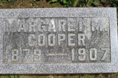 COOPER, MARGARET M. - Athens County, Ohio   MARGARET M. COOPER - Ohio Gravestone Photos