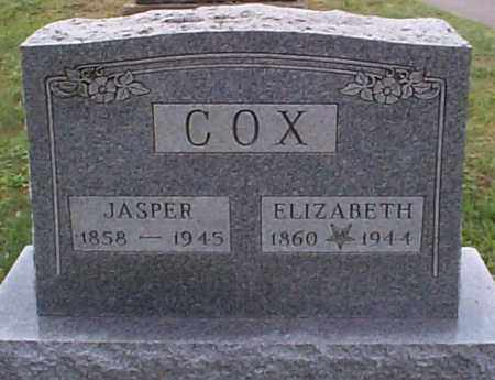 COX, ELIZABETH - Athens County, Ohio | ELIZABETH COX - Ohio Gravestone Photos